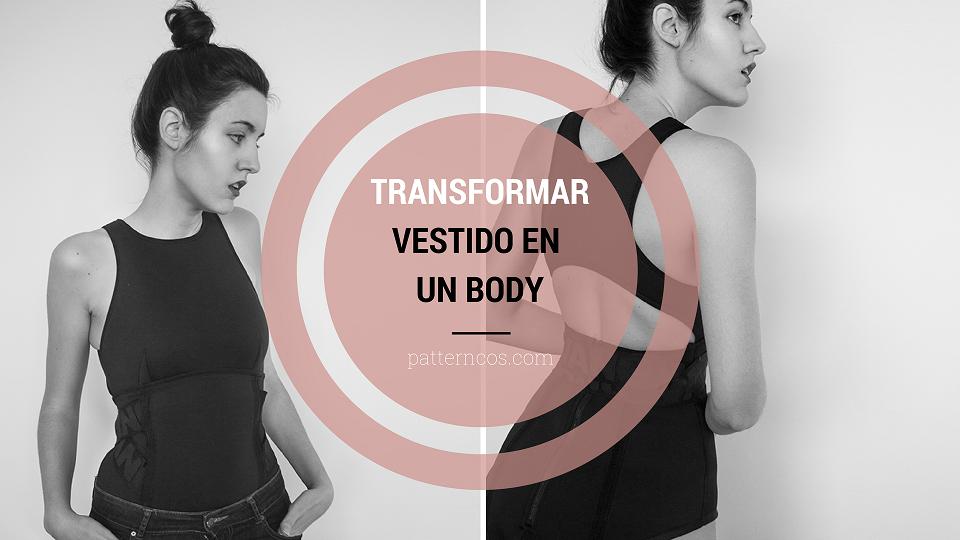 72f127a170 ¡Cómo transformar un vestido en un body o top!