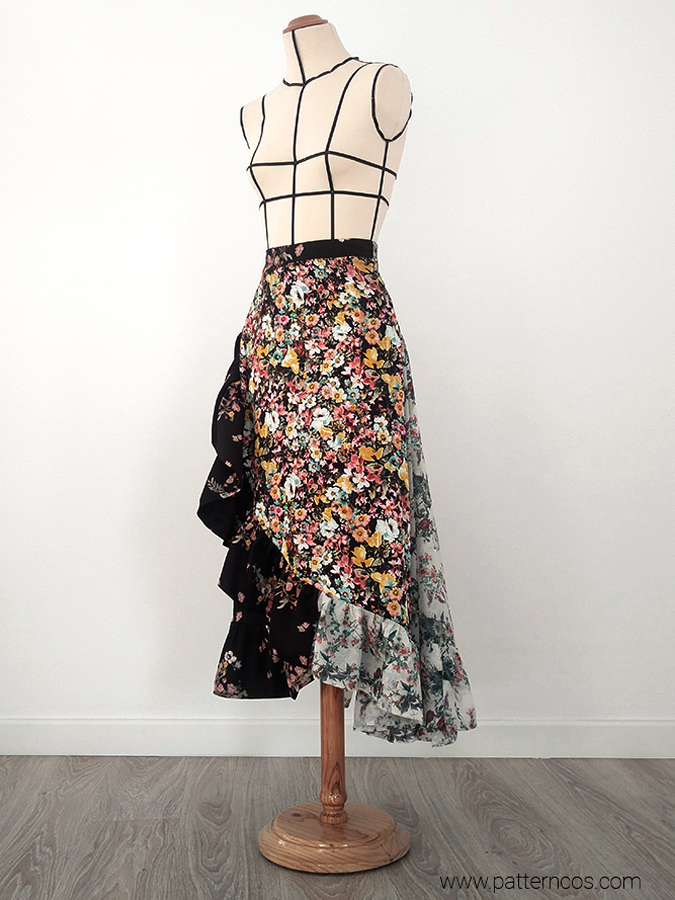 falda_cruzada_de_volantes_floral_moda_y_tutoriales_DIY_1