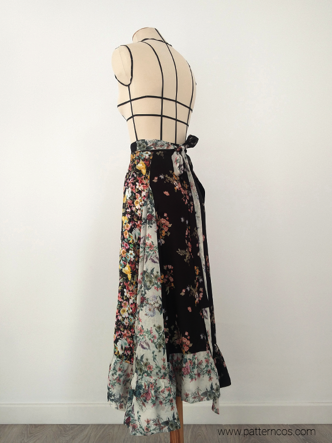 falda_cruzada_de_volantes_floral_moda_y_tutoriales_DIY_2
