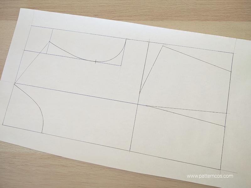 Cómo cortar y marcar un patrón después de trazarlo en papel | Patronaje