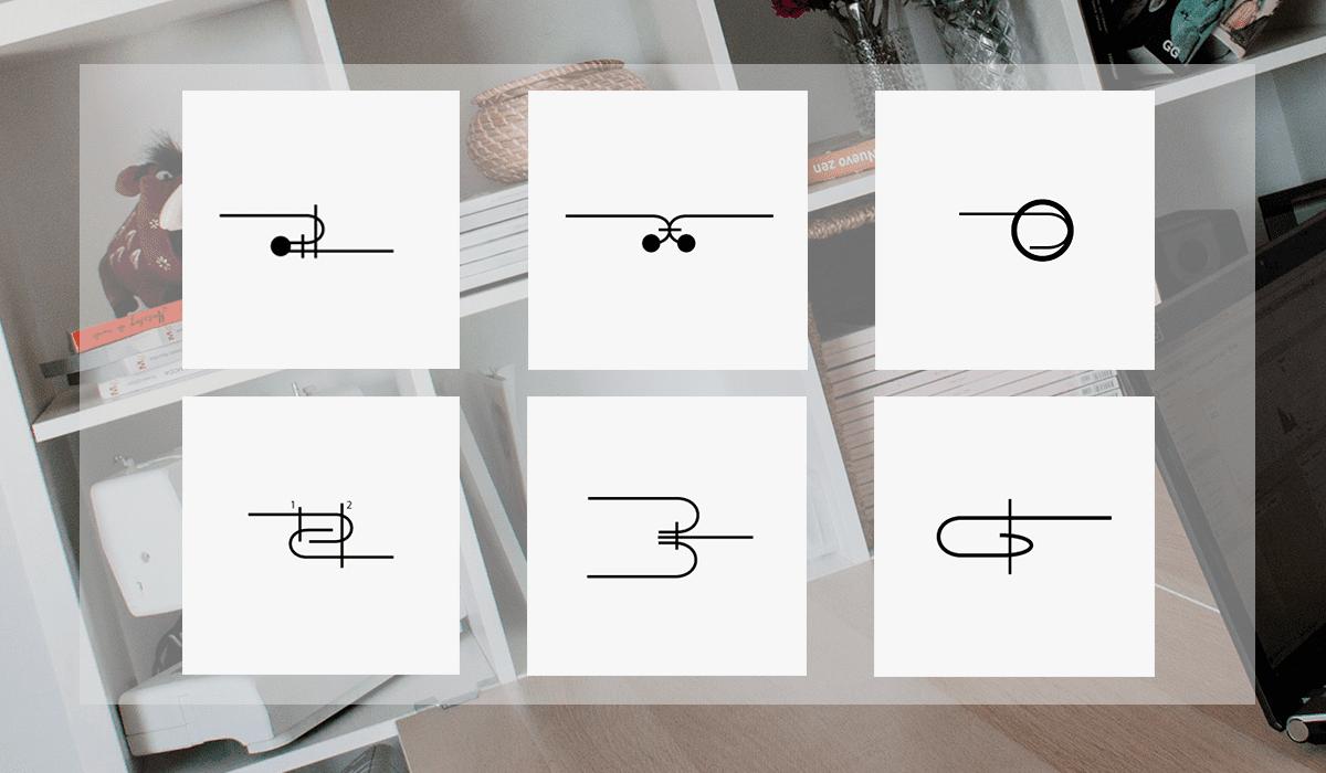 Aprende los símbolos de costura para usar en tus fichas técnicas!